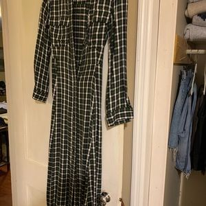 Zara Dress plaid
